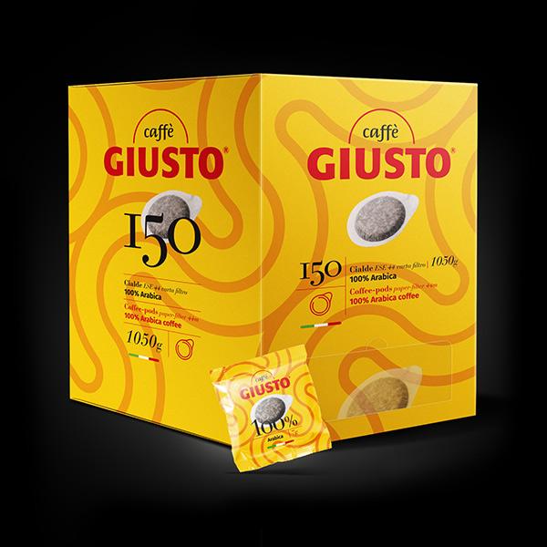 kit-150-cialde-miscela-100-arabica-caffe-giusto